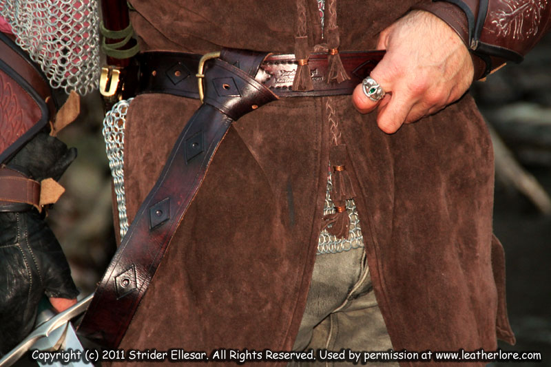 how to clean a cloth belt